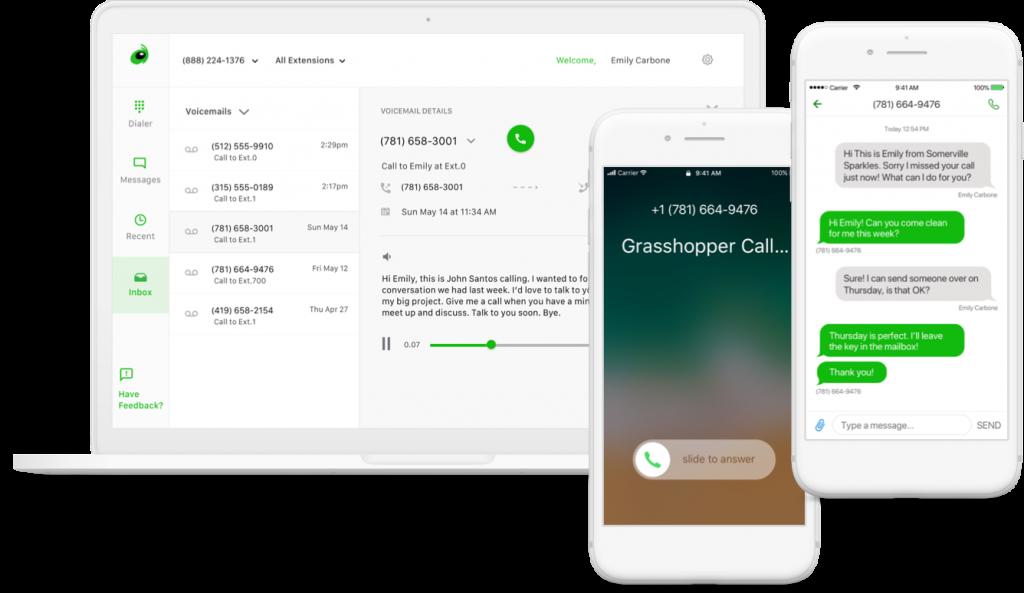 Grasshopper Review - Il miglior sistema telefonico aziendale virtuale