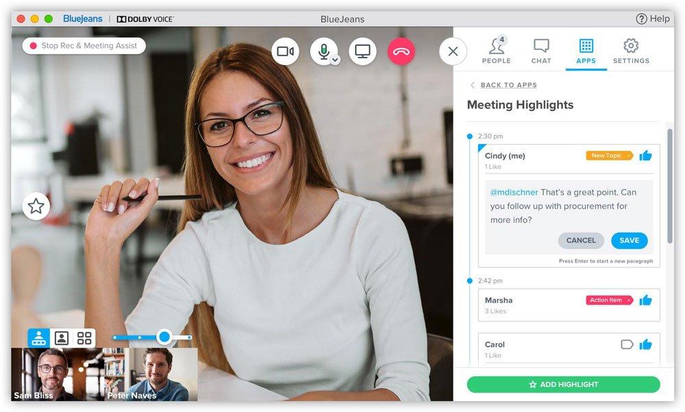 Bluejeans Meetings - Il miglior servizio di teleconferenza per  qualità del suono