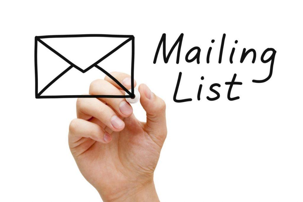Mailing List per una Presenza Online
