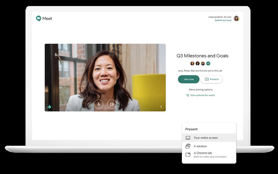 Google Meet  - Il miglior servizio di videoconferenza per gli utenti di G Suite