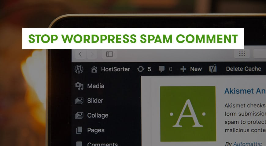 Stop WP Comment Spam