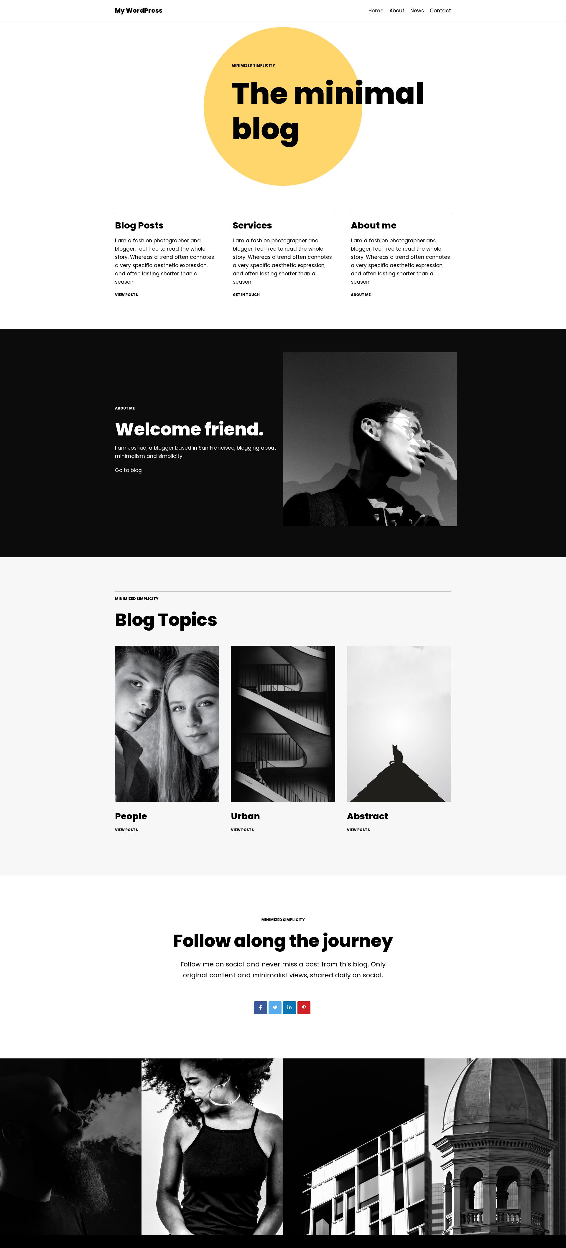 Sito web creato su siteground anteprima