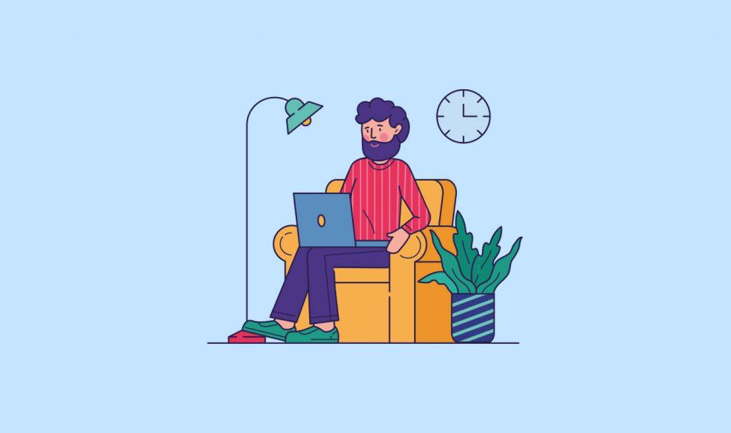 lavorare da casa smart working