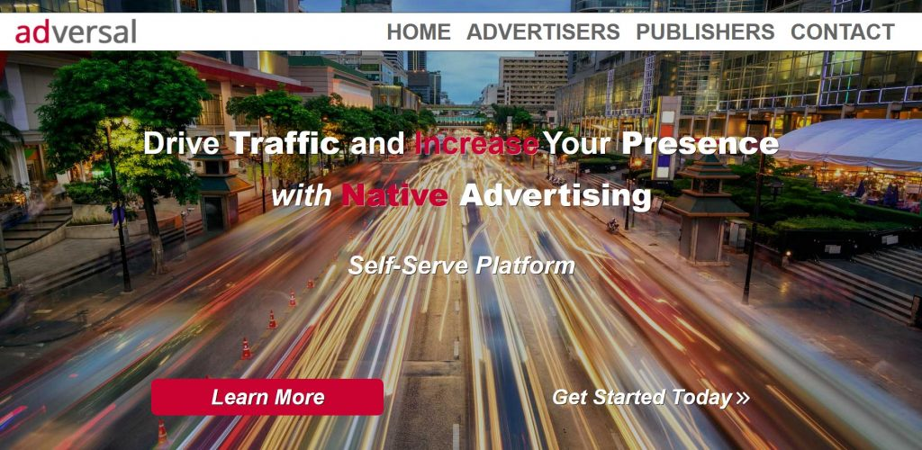 AdVersal alternativa a Google AdSense