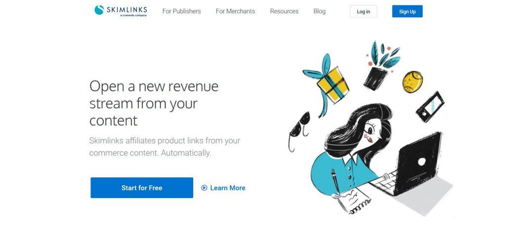 SkimLinks alternativa a Google AdSense
