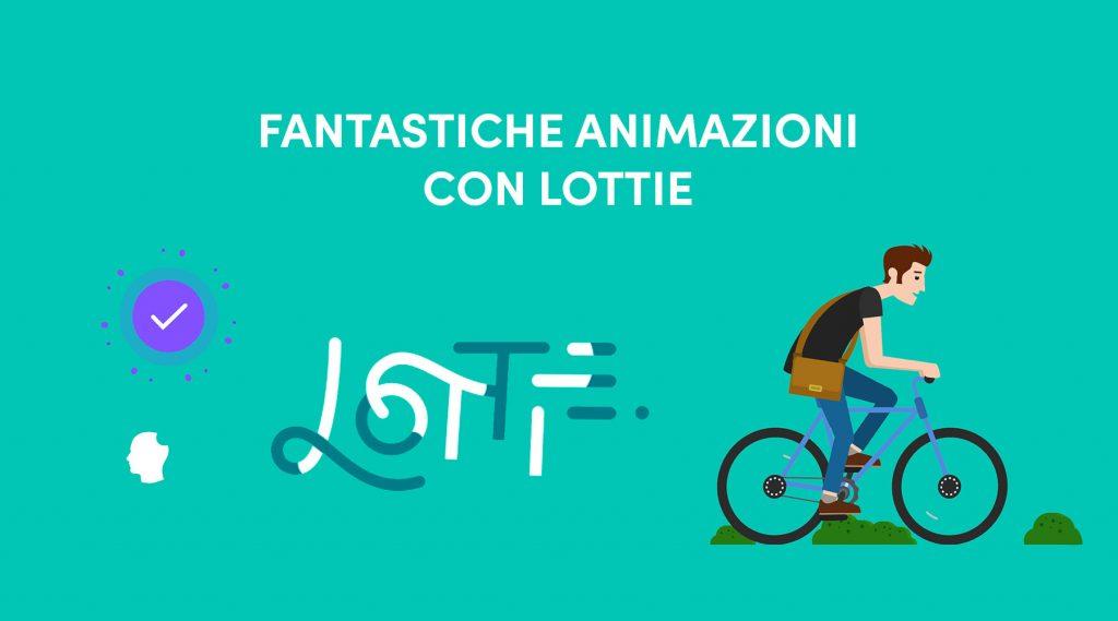 Che cos'è Lottie animazioni