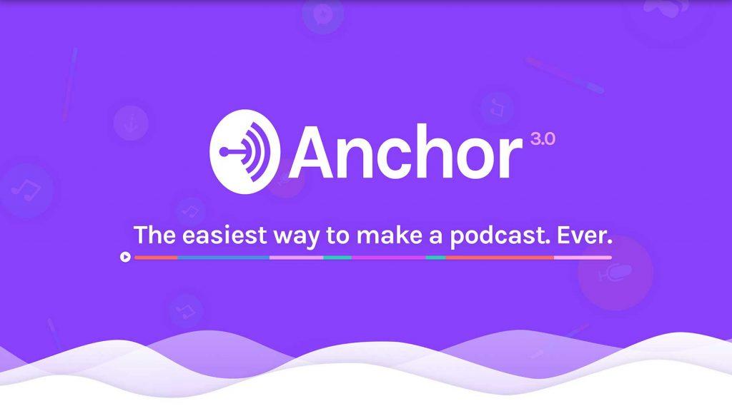Anchor per fare podcast