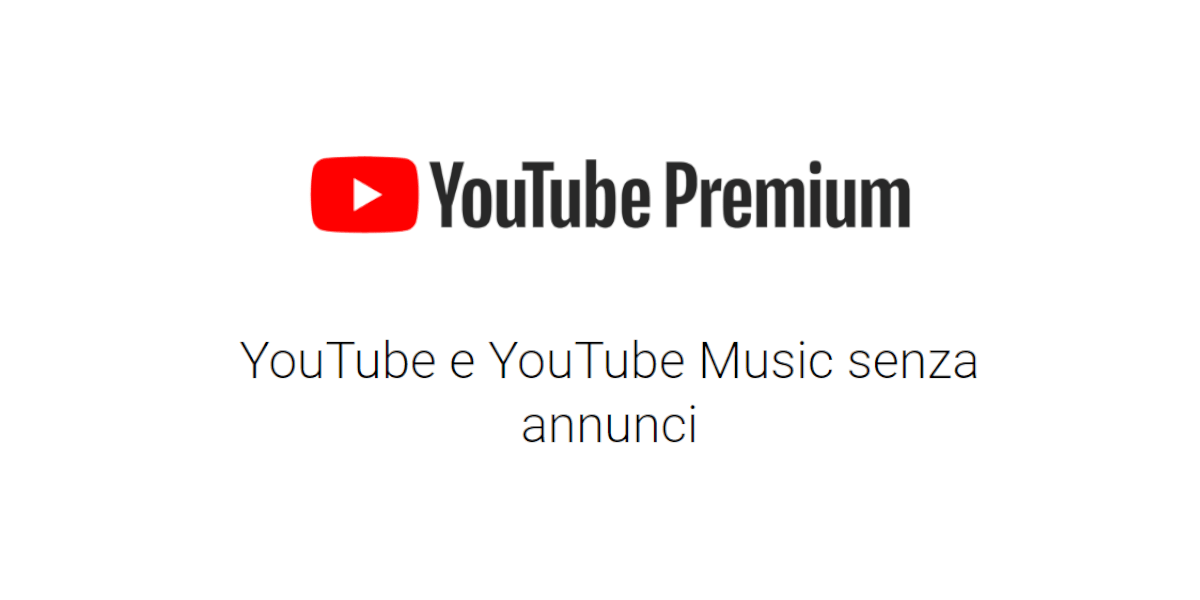 youtube premium senza annunci