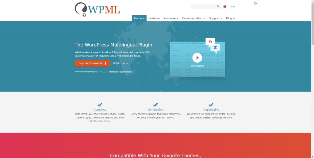 WPML multilingual per wordpress